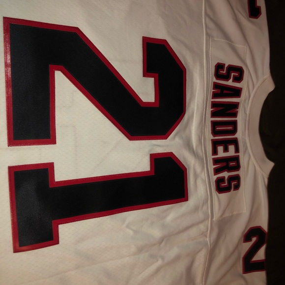 lowest price 13e3a a4ef1 Authentic Falcon's Jersey. Deion Sanders.